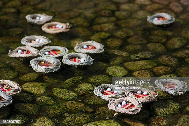 Floating Nagashi-bina Dolls
