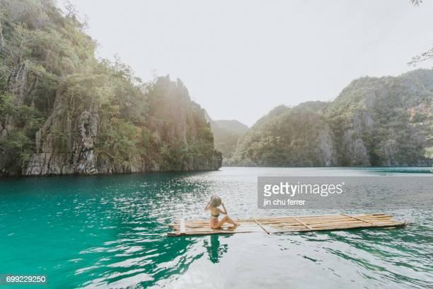 Floating on Kagayan Lake