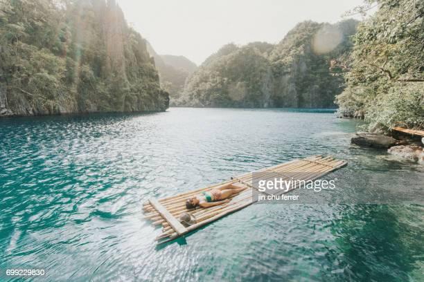 Floating On Top Of Kagayan Lake