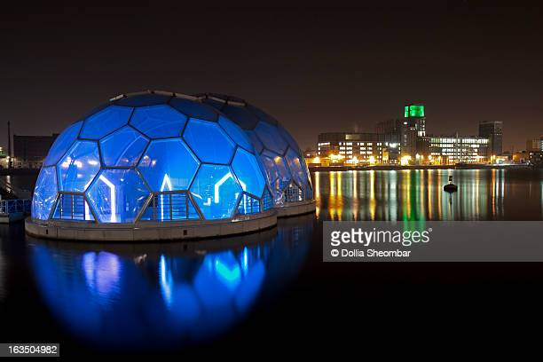 floating pavilion rotterdam - pavilion stock pictures, royalty-free photos & images
