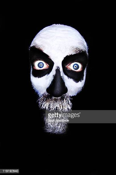 floating skull - scott macbride stock pictures, royalty-free photos & images