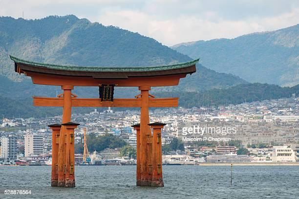 Floating Torii gate, Miyajima, Hiroshima, Japan