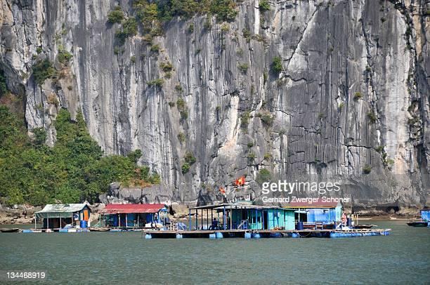 Floating village, Halong Bay, Vietnam, Southeast Asia