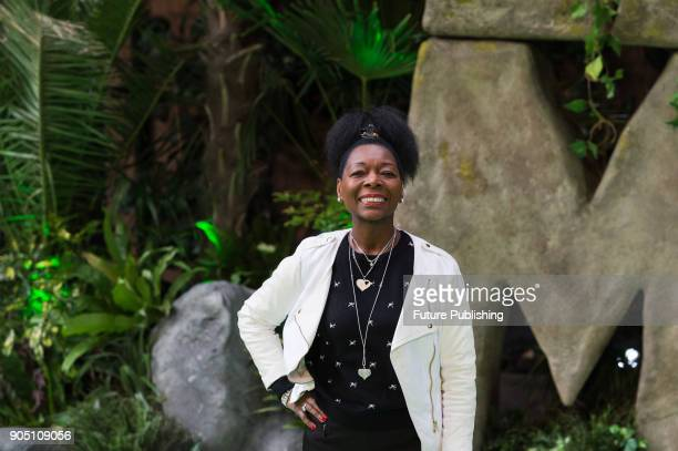 Floella Benjamin arrives for the world film premiere of 'Early Man' at the BFI Imax cinema in the South Bank district of London January 14 2018 in...
