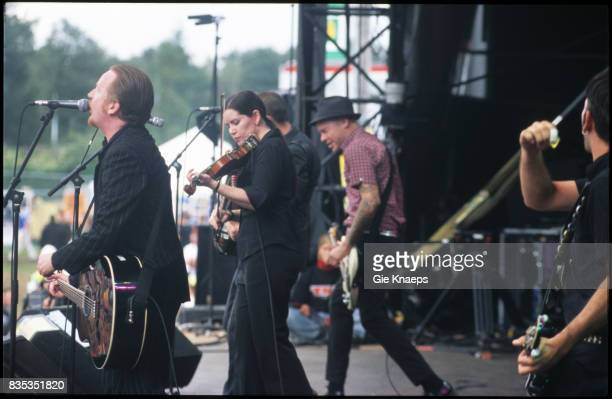 Flogging Molly Dave King Bridget Regan Matt Hensley Pukkelpop Festival Hasselt Belgium