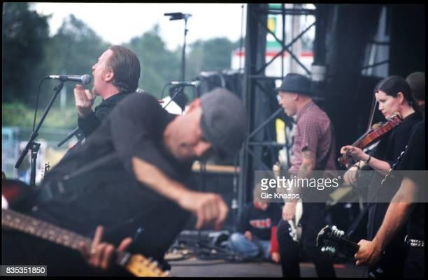 Flogging Molly Dave King Bridget Regan Pukkelpop Festival Hasselt Belgium