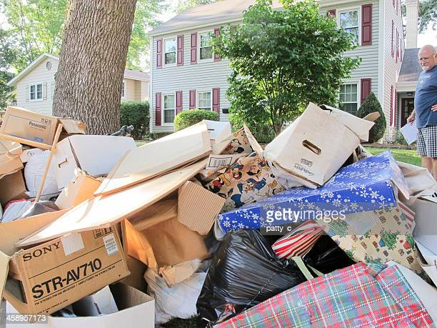flood aftermath - belongings stock photos and pictures