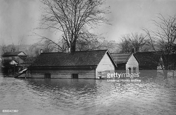 Flood Cincinnati Ohio USA Bain News Service circa 1913