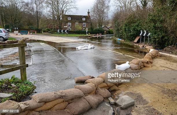 flood defences - sandbag stock pictures, royalty-free photos & images