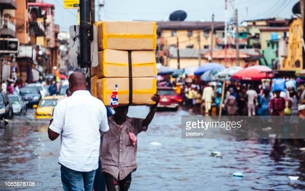 Flood in African City - Lagos, Nigeria