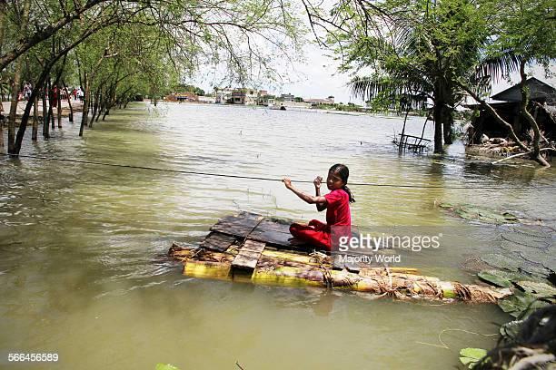 Flood in Satkhira Bangladesh September 5 2011