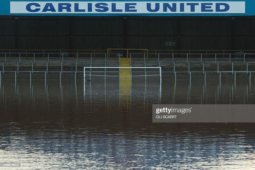 BRITAIN-WEATHER-FLOODS : ニュース写真