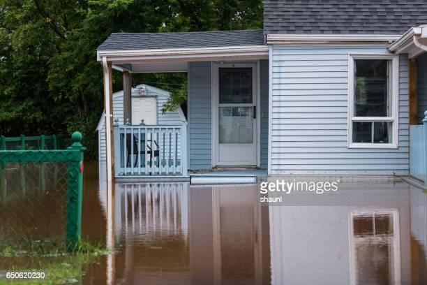 Flood Waters in Truro