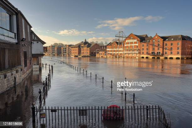 flooded city - flood stock pictures, royalty-free photos & images