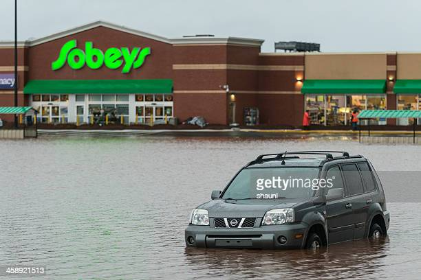 Flooded Nissan