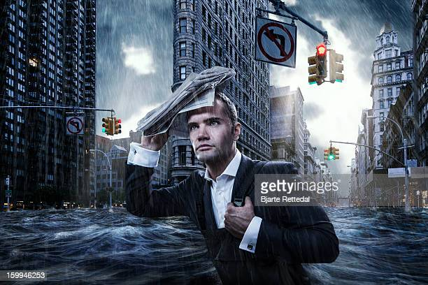 Flooded NYC