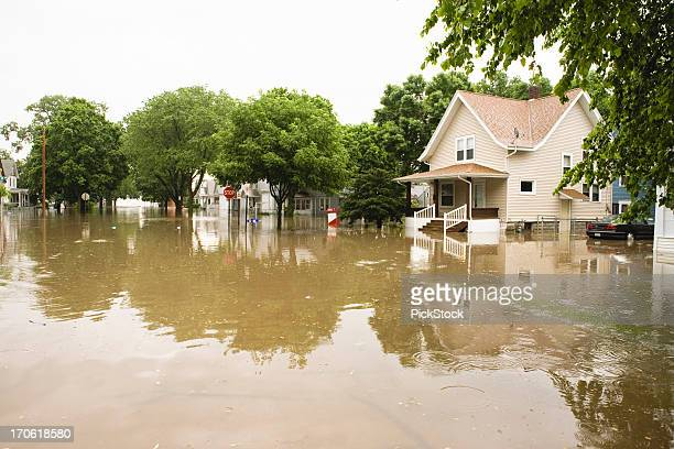 flooding in the midwest - flooding stock photos and pictures