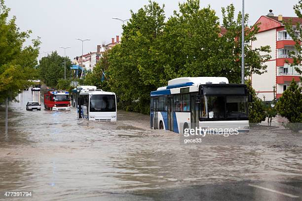 flooding - heavy rain stock photos and pictures