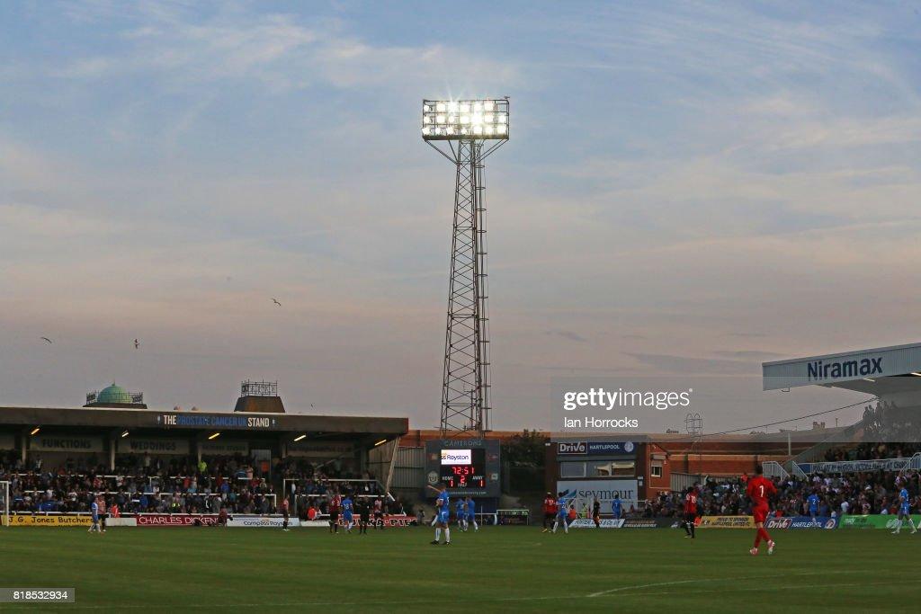 Hartlepool v Sunderland: Pre-Season Friendly : News Photo