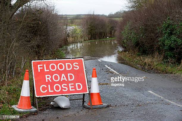 floods ahead - flooding stock photos and pictures
