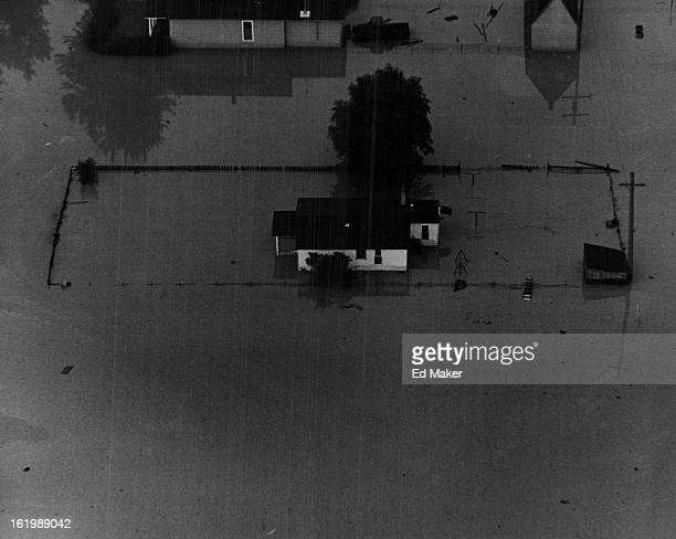 JUN 17 1965 JUN 18 1965 Floods * Colorado Lots of work lies ahead for Housewives in homes like this one swamped by Denver Flood