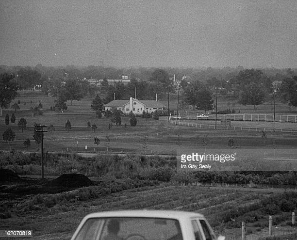 JUN 3 1965 Floods Denver Overland Golf course before the crest about 730