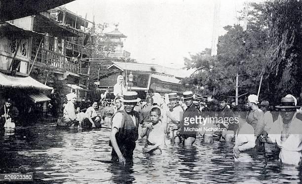 Floods in Tokyo