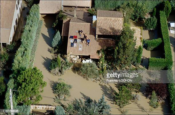 Floods in Vaucluse in France on September 23 1992 At Bedarrides