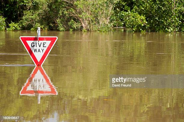 Floodwater Street Signs