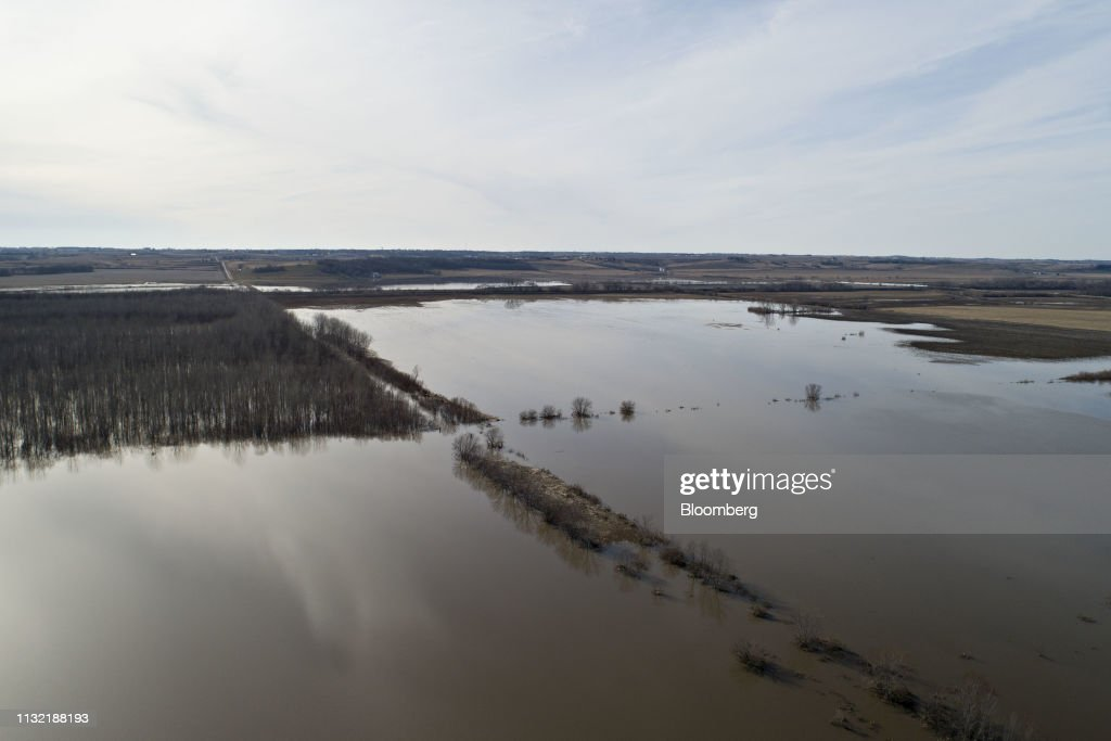 IA: Floodwaters Continue To Inundate Southwest Iowa