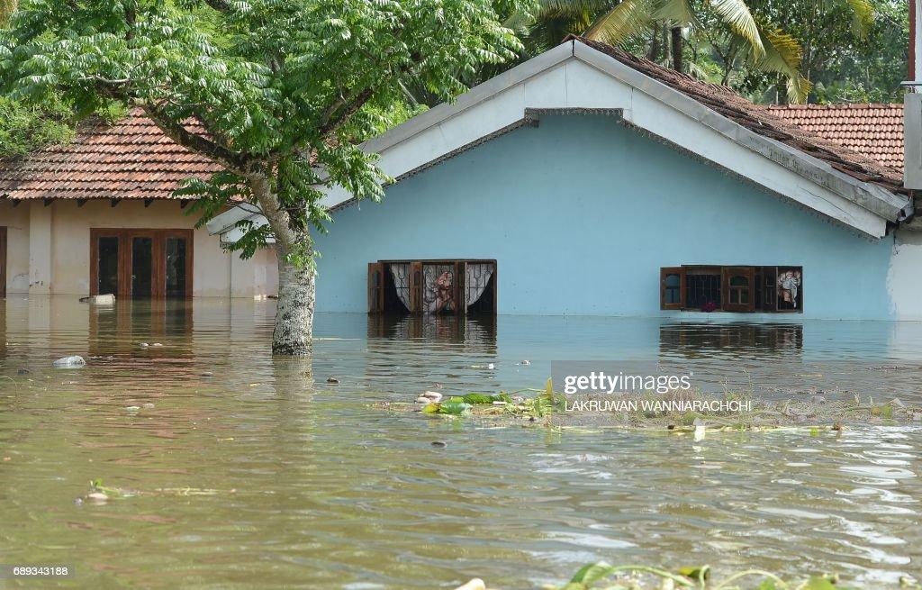 SRI-LANKA-WEATHER-FLOOD : News Photo