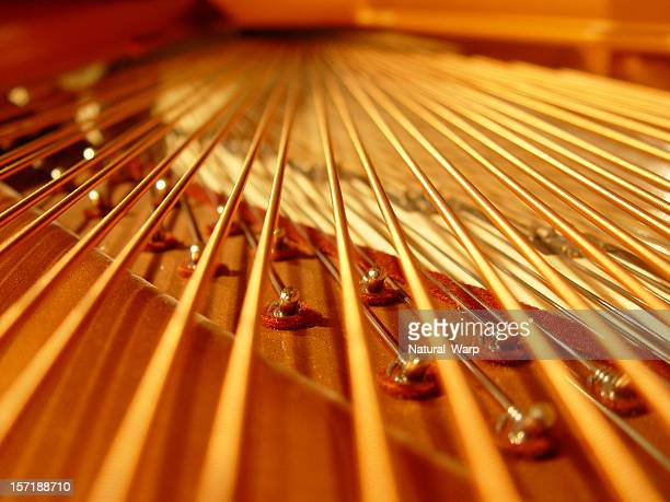 piano 15 - string instrument stock photos and pictures