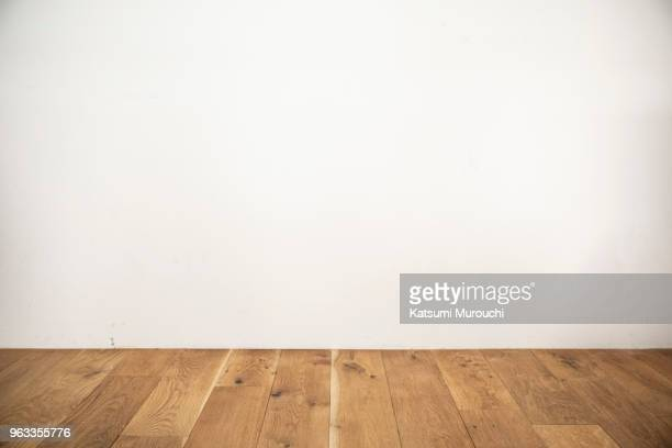 floor and wall background - muur stockfoto's en -beelden