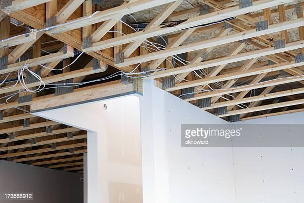 Floor Joists and Wiring in Basement