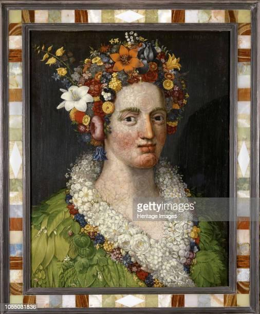 Flora 1589 Private Collection Artist Arcimboldo Giuseppe