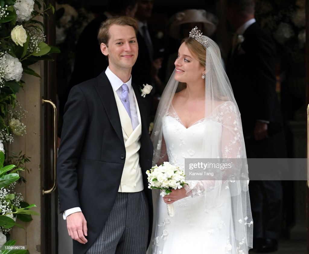 Flora Alexandra Ogilvy And Timothy Vesterberg Marriage Blessing At St James's Piccadilly : News Photo