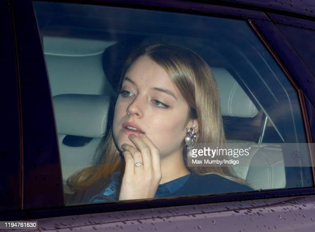 Flora Alexandra Ogilvy attends a Christmas lunch for members of the Royal Family hosted by Queen Elizabeth II at Buckingham Palace on December 18,...