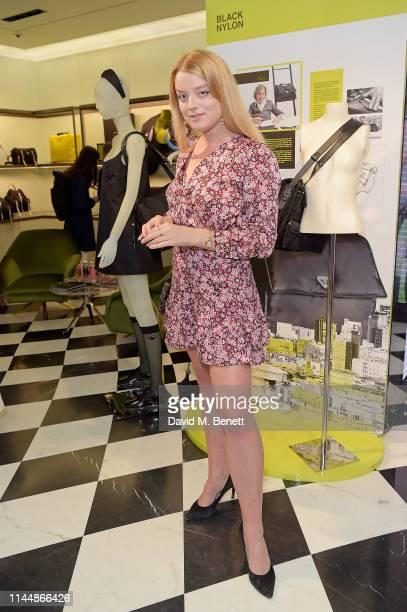 Flora Alexandra Ogilvy attends the Prada Invites event on April 24, 2019 in London, England.