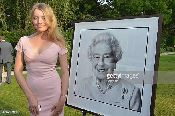 Flora Alexandra Ogilvy from the Royal Family attends the British 'Summer Time 2015' :Cocktail At the British Embassy And Shops Events Rue du Faubourg...
