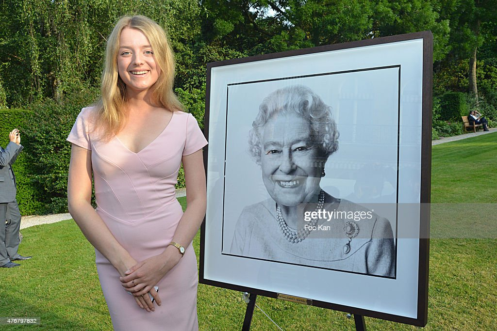 Flora Alexandra Ogilvy from the Royal Family attends the British 'Summer Time 2015' :Cocktail At the British Embassy And Shops Events Rue du Faubourg Saint Honore on June 11, 2015 in Paris, France.