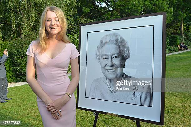 Flora Alexandra Ogilvy from the Royal Family attends the British 'Summer Time 2015' Cocktail At the British Embassy And Shops Events Rue du Faubourg...