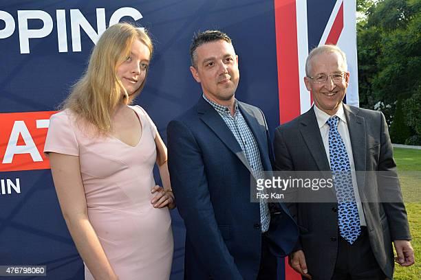 Flora Alexandra Ogilvy from the Royal Family, David Napier from Penhaligons fragrances and Great Britain ambassador Sir Peter Ricketts attend the...