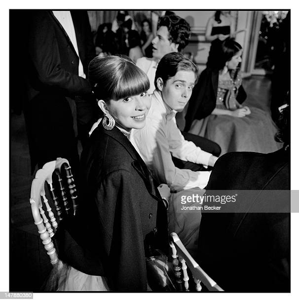 Flora Collins is photographed at the Crillon Debutante Ball for Vanity Fair Magazine on November 26 2011 in Paris France PUBLISHED IMAGE