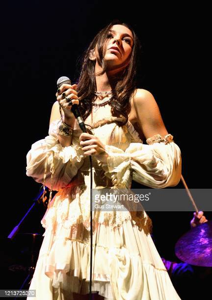 Flora Connell aka Fyah of One Eleven performs on stage at the Royal Albert Hall on March 11 2020 in London England