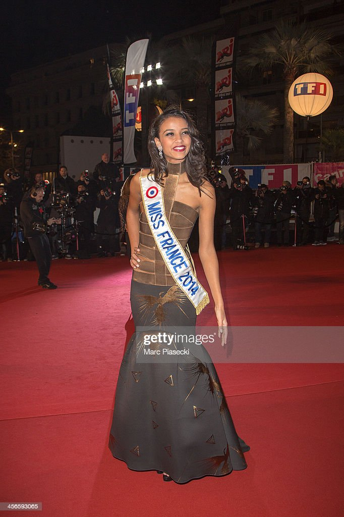 Flora Coquerel attends the 15th NRJ Music Awards at Palais des Festivals on December 14, 2013 in Cannes, France.