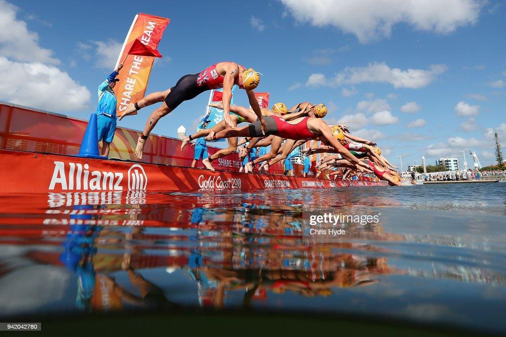 Triathlon - Commonwealth Games Day 1 : News Photo