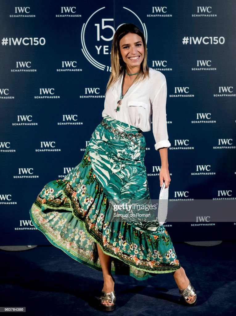 Flora Gonzalez attends 'IWC - Fuera de Serie' 150 Anniversary Party on May 30, 2018 in Madrid, Spain.