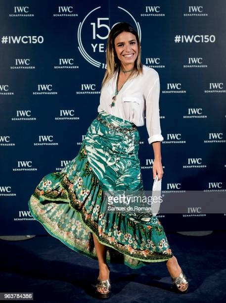 Flora Gonzalez attends 'IWC Fuera de Serie' 150 Anniversary Party on May 30 2018 in Madrid Spain