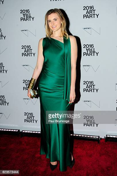 Flora Irving attends the 2016 Whitney Art Party at The Whitney Museum of American Art on November 15 2016 in New York City