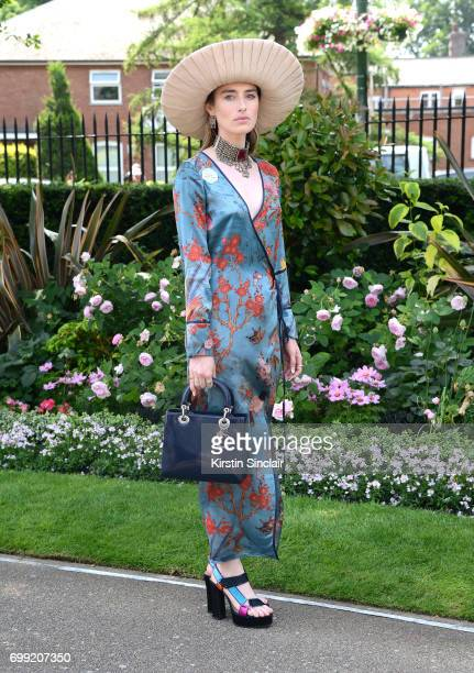Flora Macdonald Johnson attends day 2 of Royal Ascot at Ascot Racecourse on June 21 2017 in Ascot England